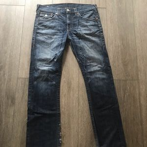 True Religion Jeans dark wash Ricky size 36
